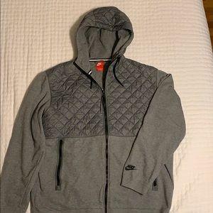 Nike Sportswear Quilted Full Zip Hoodie